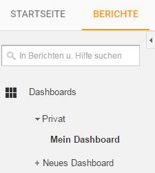 Analytics_Berichte Was können Google Analytics Dashboards? - Berichtefunktion in Analytics