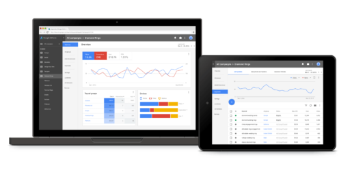 Google AdWords Ansichtwechsel zu AdWords Next