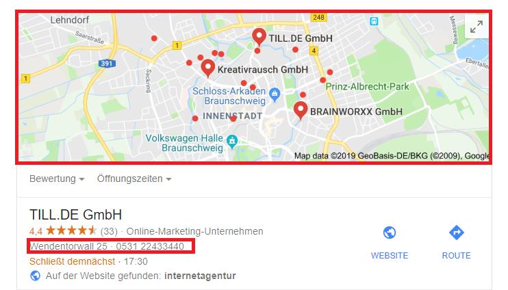 TILL.DE-GmbH-Standort-My-Business Google My Business Seminar