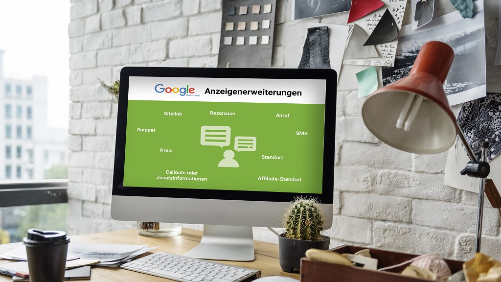 Google Ads Anzeigenerweiterung