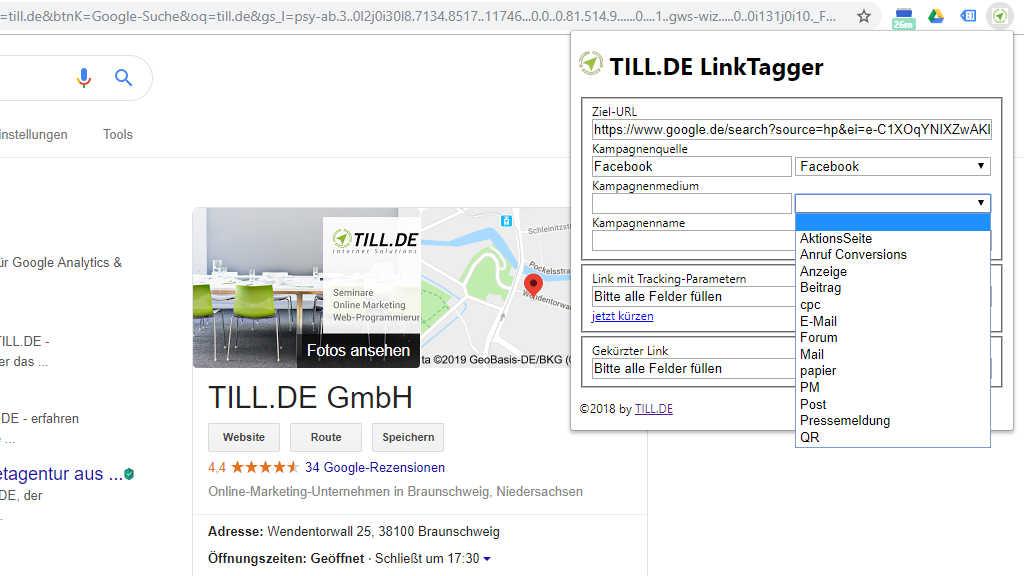 LinkTagger – Der neue Browser-Plug-in von TILL.DE
