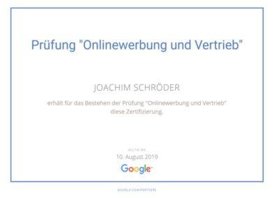 Zertifikat_Google-Onlinewerbung-Vertrieb-Zertifikat