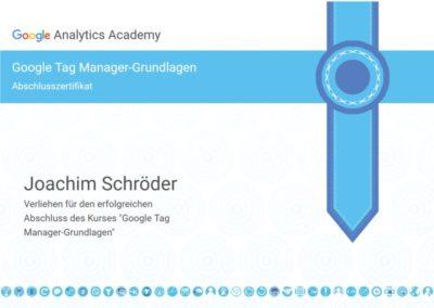 Zertifikat_Joachim-Schroeder-Google-Tag-Manager