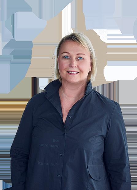 Geschäftsführerin Arelette S. Riediger