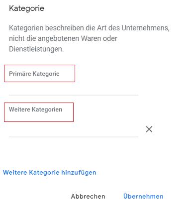 Google-My-Business-Unternehmenskategorie-3 Update: Google My Business präsentiert neue Unternehmenskategorien