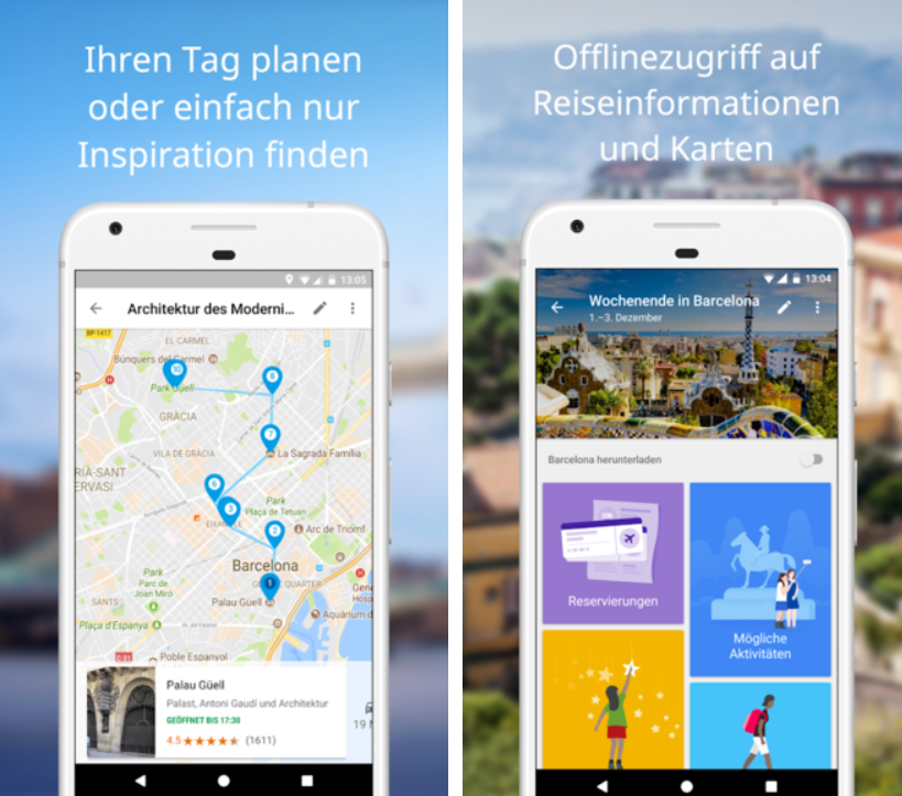 Google-Trips-App-Einblick Google Trips - Urlaub war noch nie so einfach