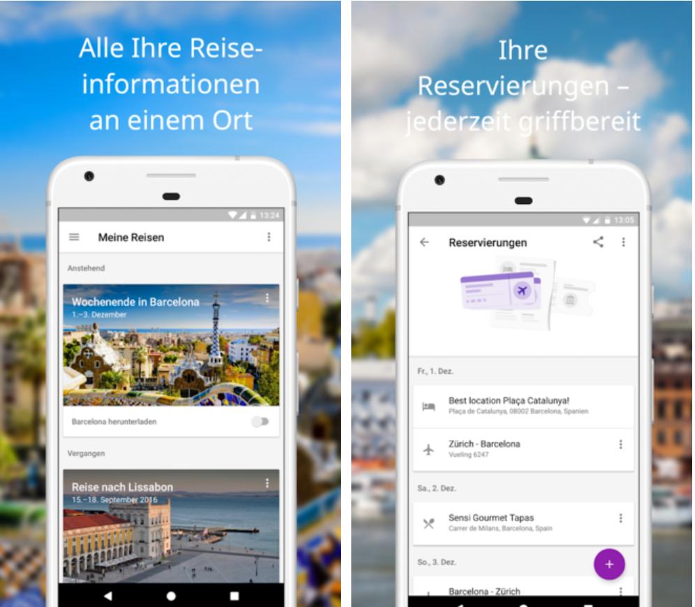 Google-Trips-App Google Trips - Urlaub war noch nie so einfach