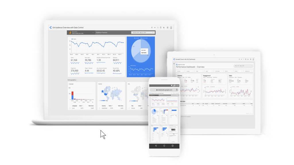 Lernen Sie Ihre Ergebnisse mit dem Google Data Studio zu visualisieren!