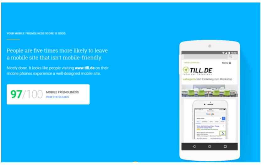 Test-My-Site-Bildausschnitt Google Test My Site - wie schnell ist Ihre Webseite?