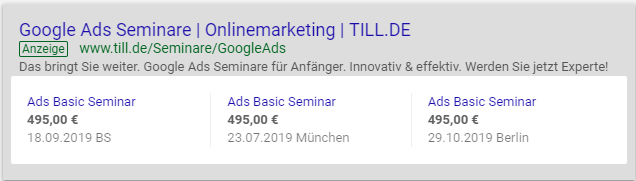 Google-Ads-Preiserweiterung-Desktopansicht-4 Google Ads Preiserweiterungen