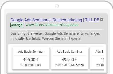 Google-Ads-Preiserweiterung-Smartphoneansicht-7 Google Ads Preiserweiterungen