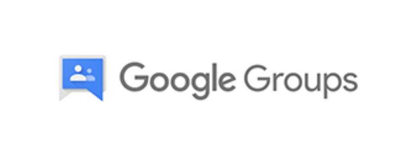 Google-Groups-Logo Google Groups - Erstellen Sie Online- Gruppen und E-Mail Verteilerlisten