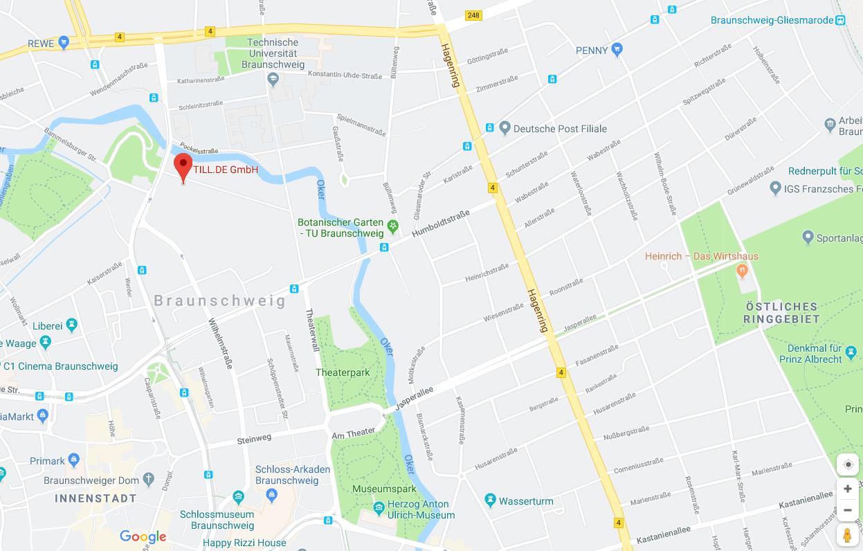 Google-Maps-Oberfläche-1 Google Maps – Routenplaner nach Maß
