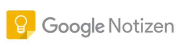 Google-Notizen-Logo Google Notizen - Aufgaben und Ideen einfach notieren