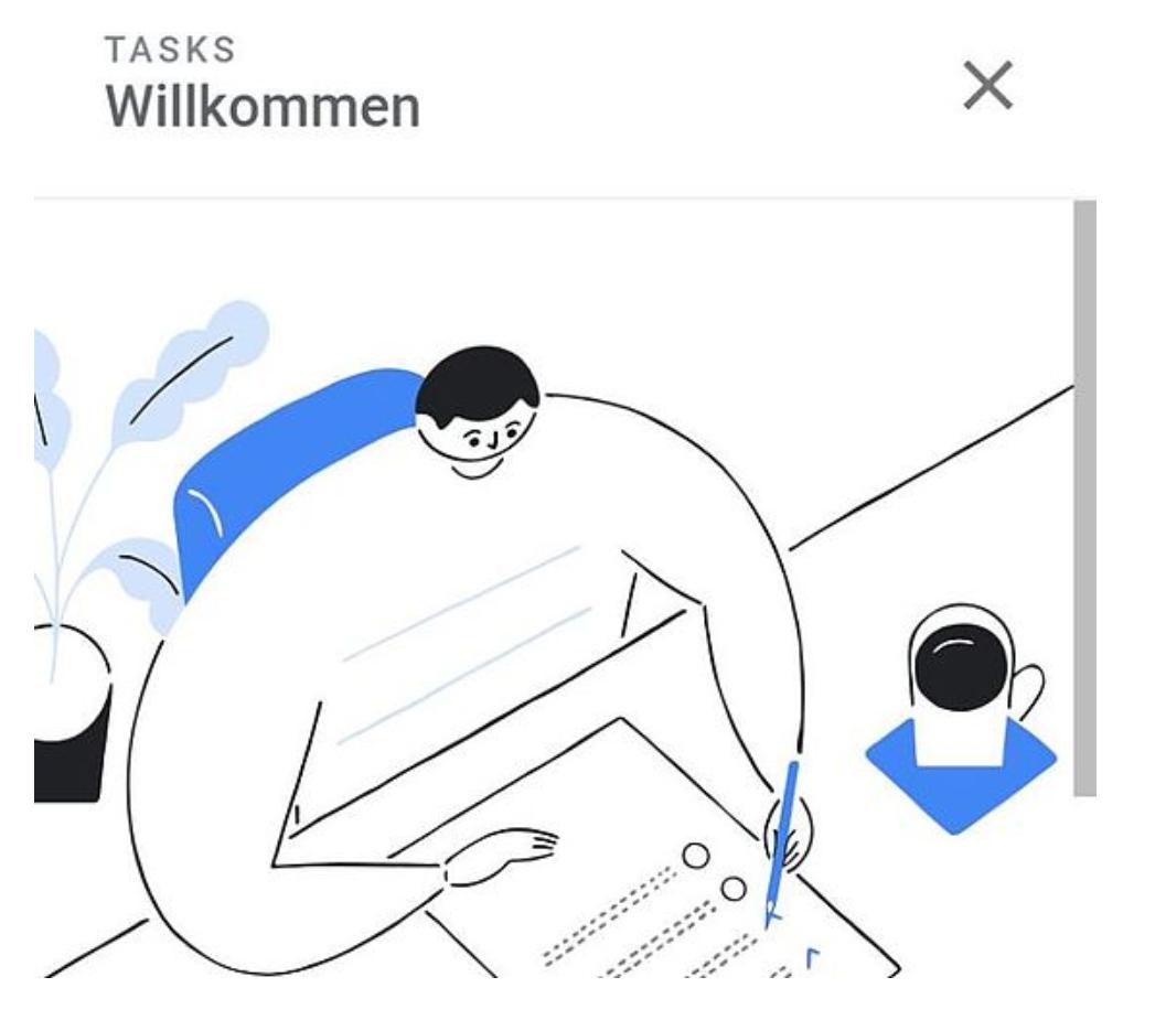 Google-Tasks-Zeichnung Google Tasks