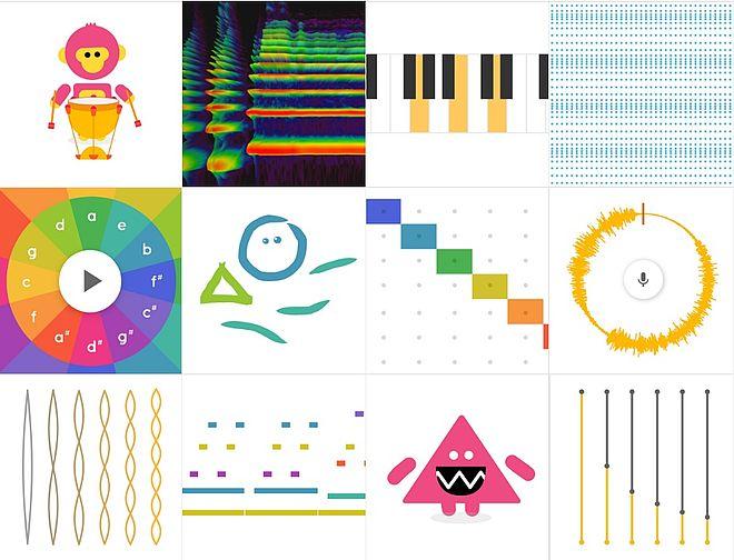 Google-Chrome-Music-Lab Chrome Music Lab - Musik kinderleicht alleine komponieren!