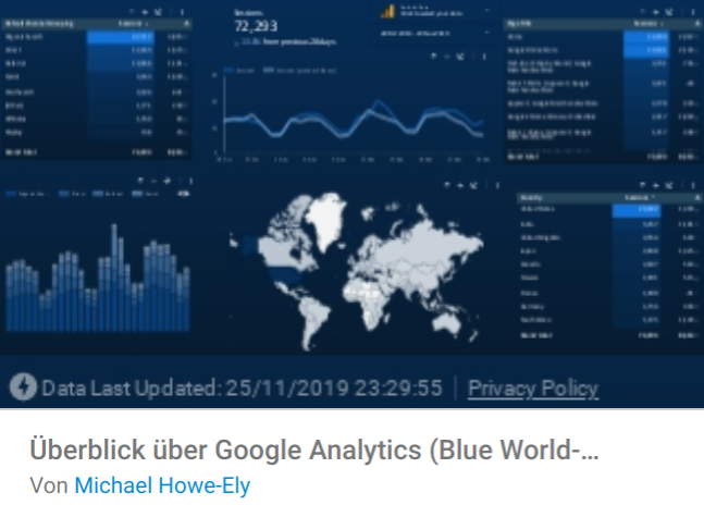 ga-blueWorld Liste mit Google Data Studio Report Templates