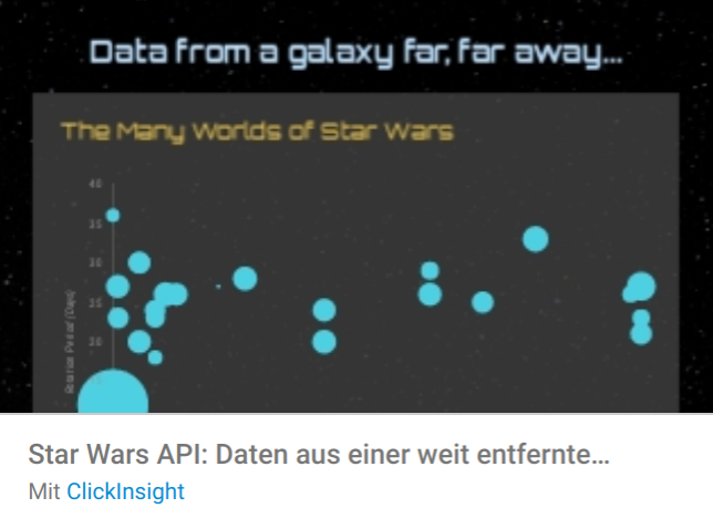 galaxy-far-away Liste mit Google Data Studio Report Templates
