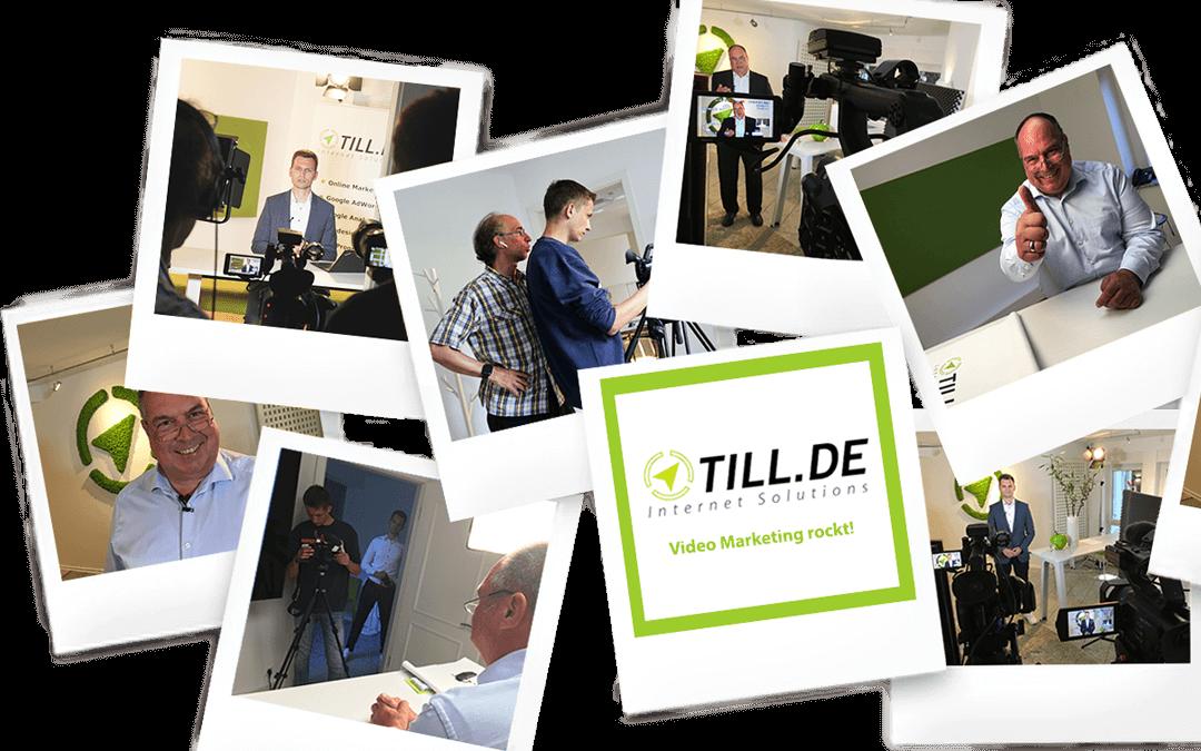 Großer Videodrehtag bei TILL.DE