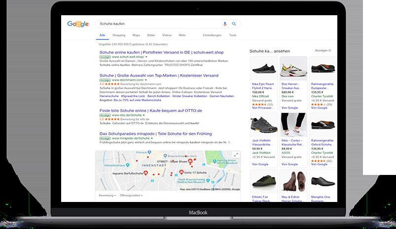 MacBook_suchnetzwerk_ads Google Ads Agentur