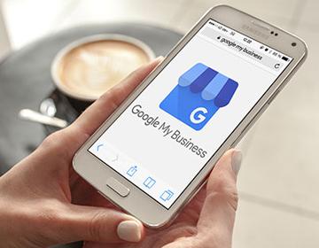 Smartphone_Startseite Google My Business