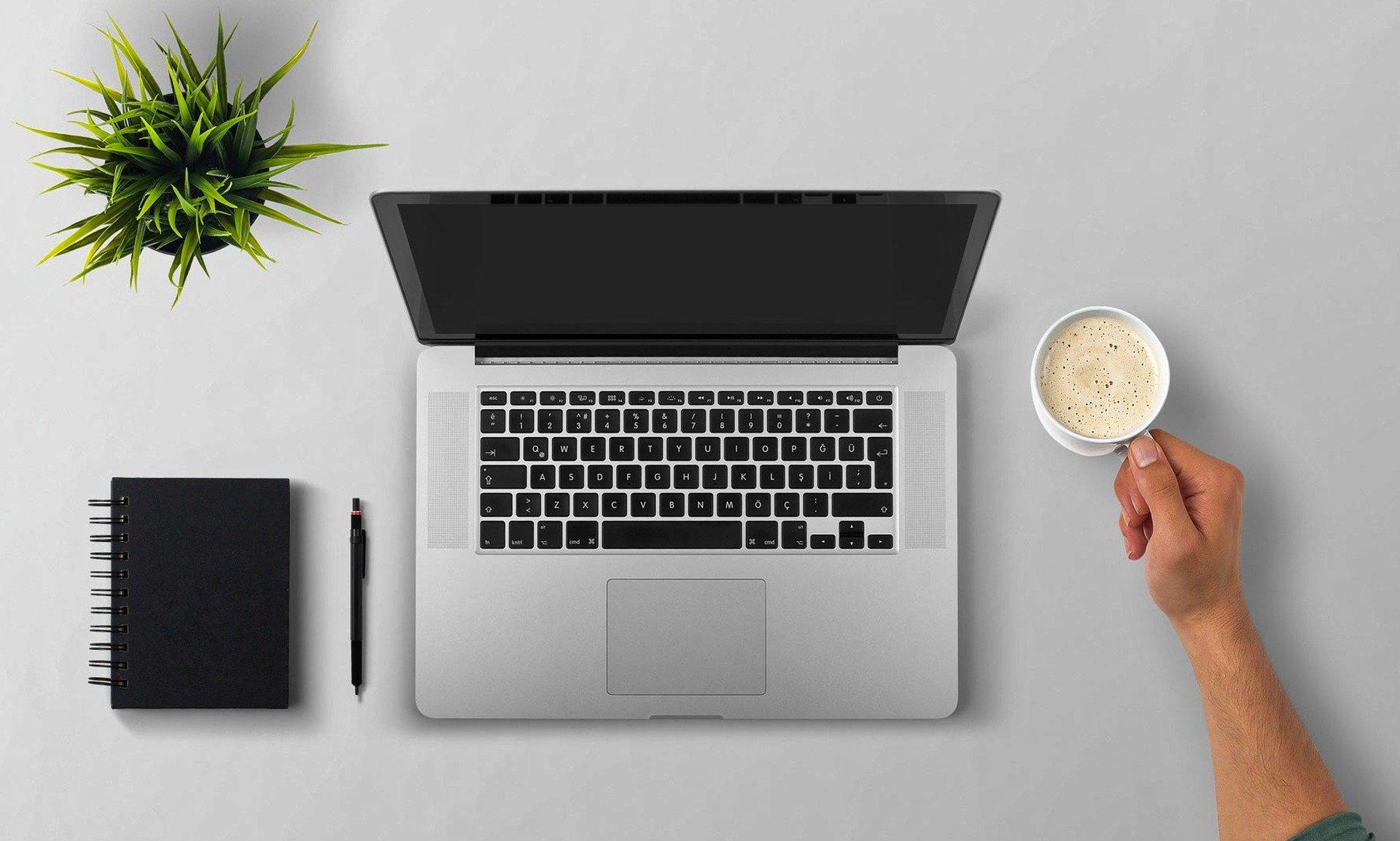 Laptop für Webinare