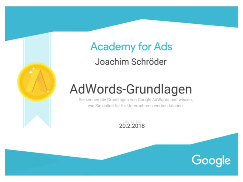 Zertifikat_Google-AdWords-Grundlagen-zertifizierter-Trainer