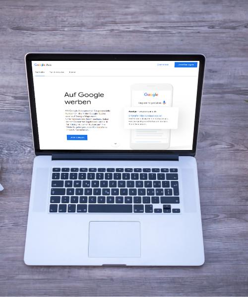 Google Ads Oberfläche Bereich Empfehlungen