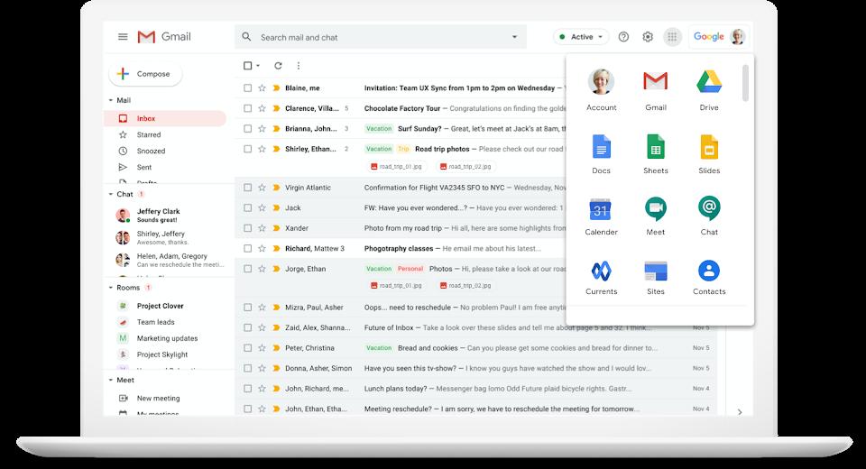 google workspace laptop optik
