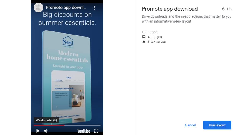 You Tube Video Builder | Promote app download 2