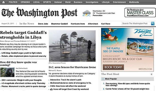Google Display Netzwerk Placements The Washington Post