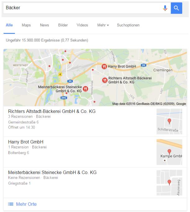 Knowledge Panel - Google My Business